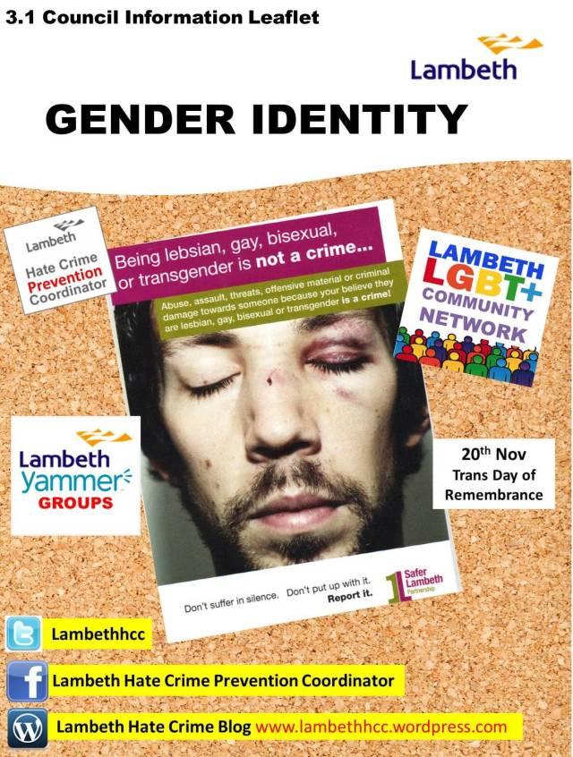 3.1 Gender Identity