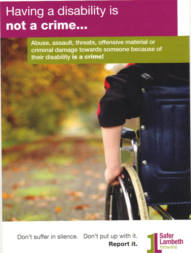 Hate Crime - Disability