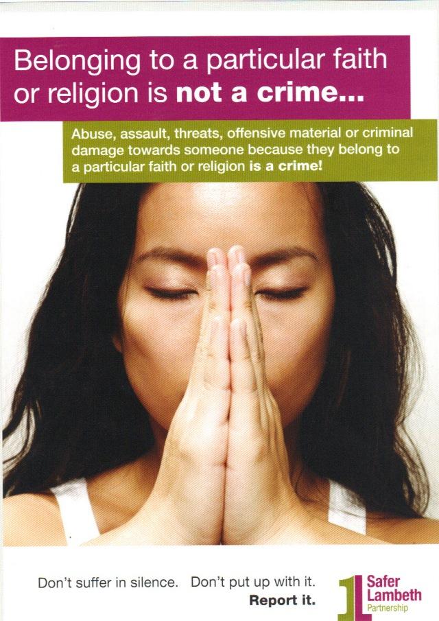 Hate Crime - Faith