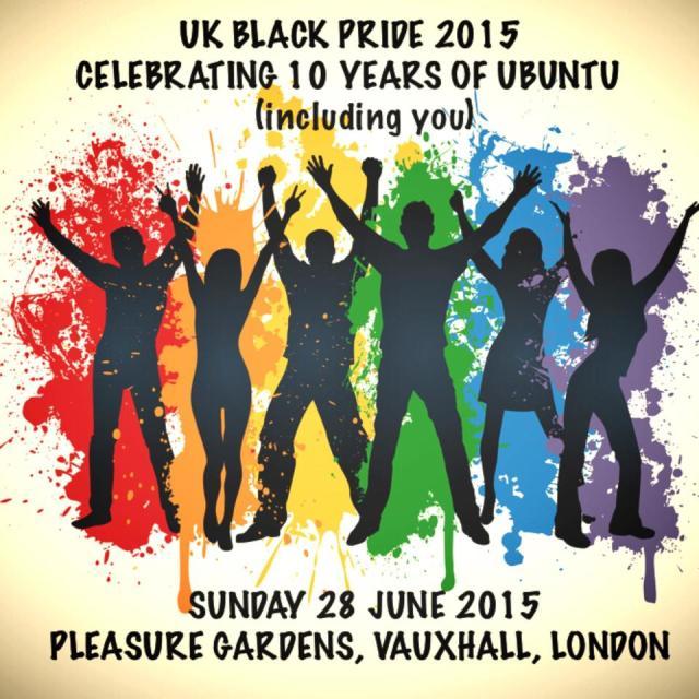 UK Black Pride 2015