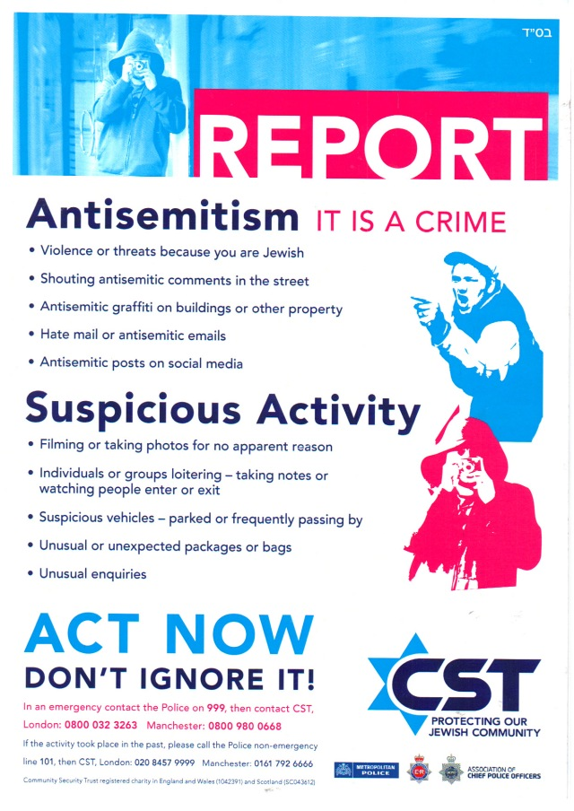 Community Safety Trust Poster