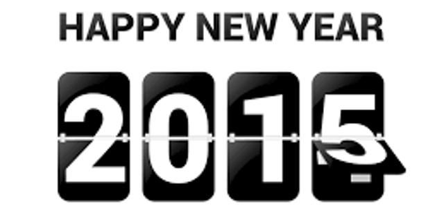 Happy New Year 2015 narrow