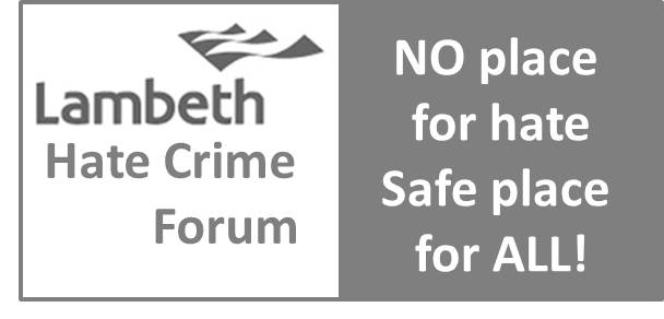 Lambeth Hate Crime Forum Working Groups
