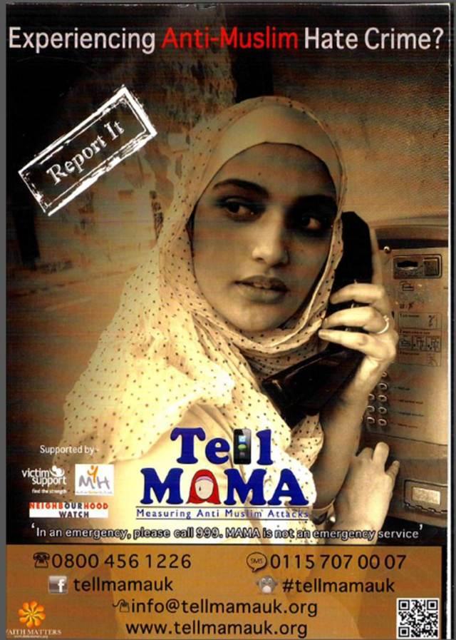 Tell Mama Leaflet