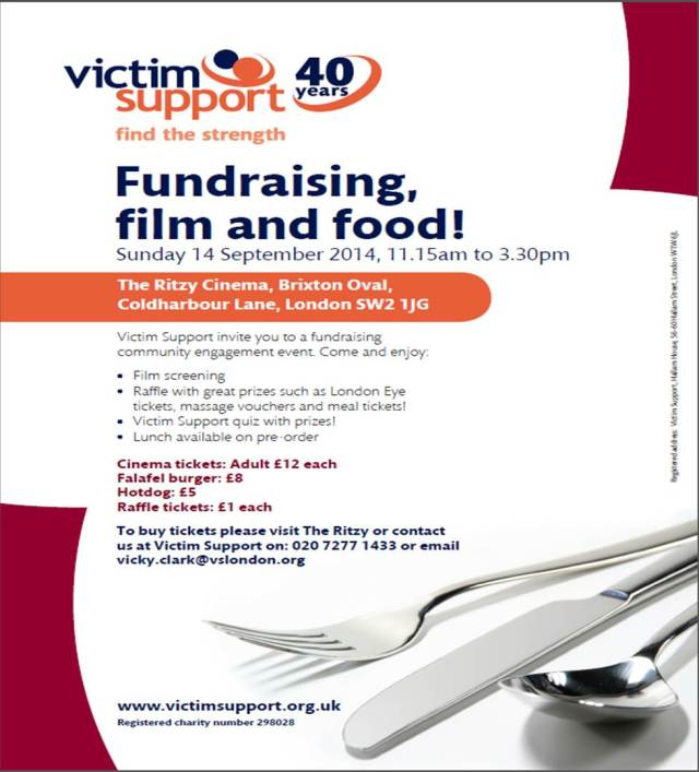 Victim Support Fundraising and Film