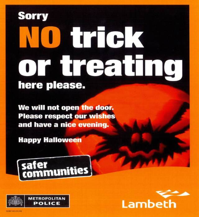 Lambeth Halloween Poster