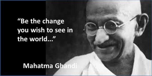 Quotes - Day 06 - Mahatma Ghandi