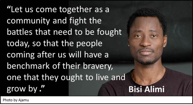 Quotes - Day 07 - Bisi Alimi