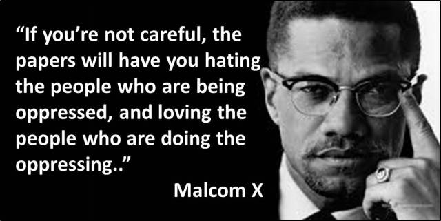 Quotes - Day 07 - Malcolm X