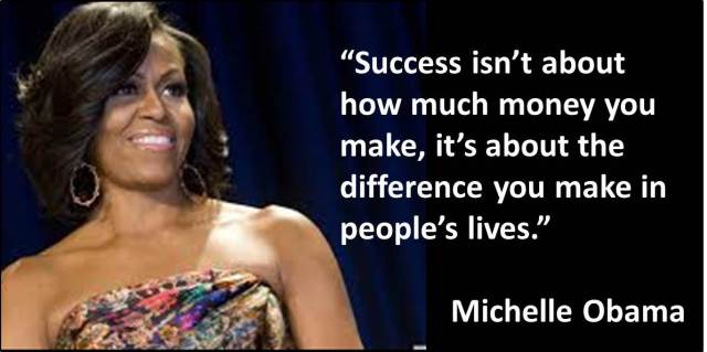 Quotes - Day 08 - Michelle Obama