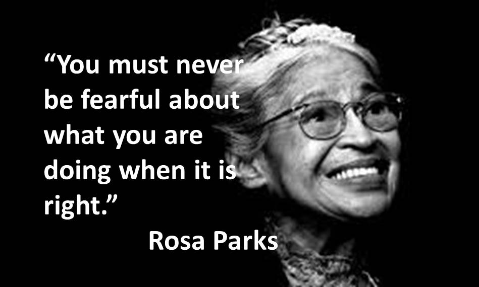 Black History Month Quotes Glamorous Black History Month And Hate Crime Awareness Week  Thanks Rosa