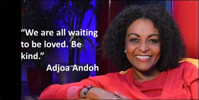 Quotes - Day 20 - Adjoa Andoh