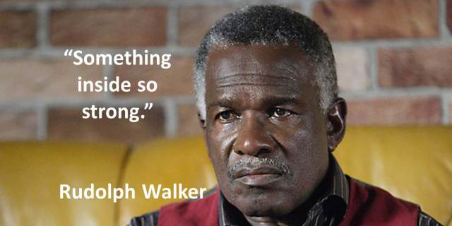 Quotes - Day 21 - Rudolph Walker