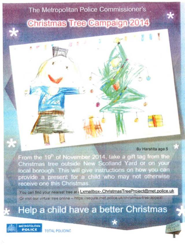 Lambeth Christmas Tree Appeal