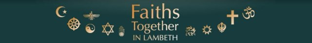 Faiths Together in Lambeth Banner