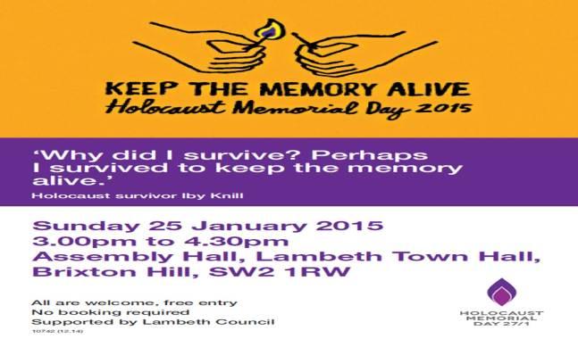 2015 01 25 HMD Event - Lambeth