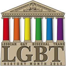 LGBT History Month Logo 2015