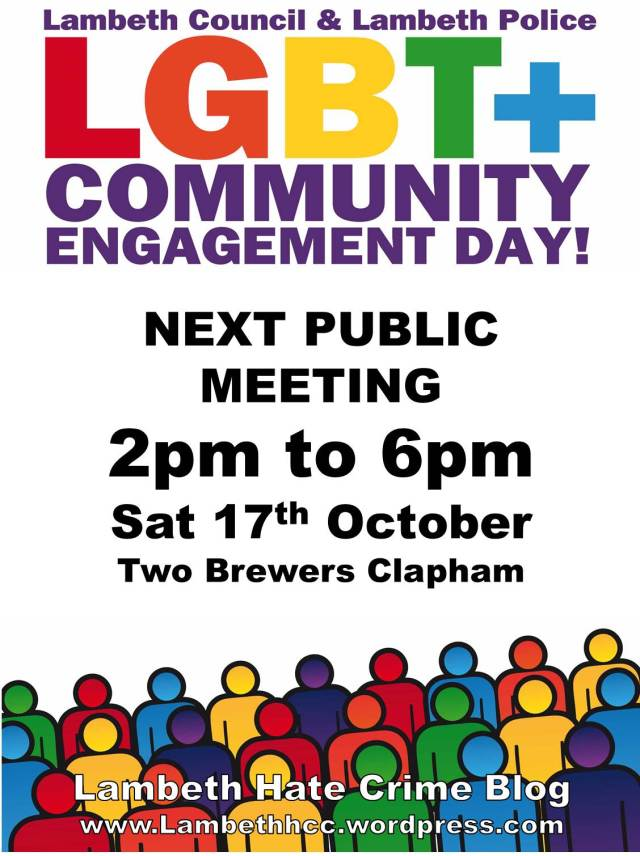 2015 10 17 LGBT+ Community Engagement Day
