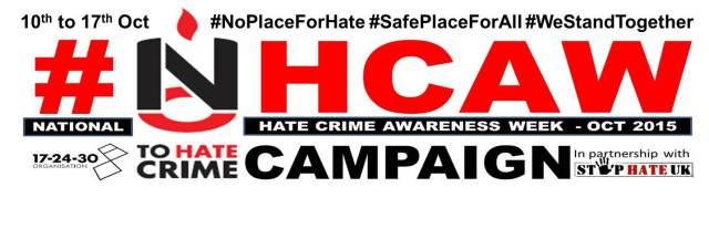 National Hate Crime Awareness Week Logo