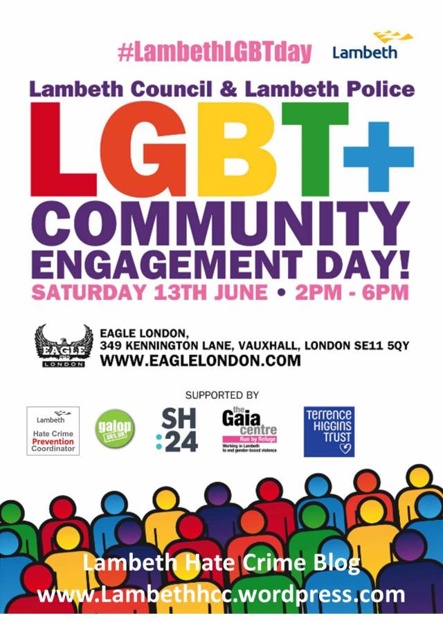 Lambeth LGBT+ Community Engagement Day