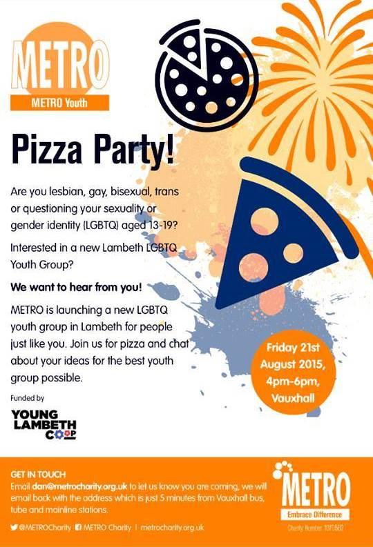 2015 08 21 Metro Pizza Party