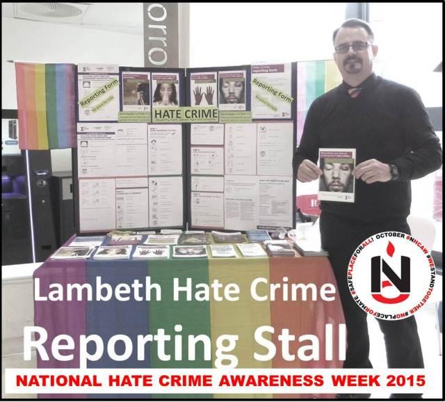 #NHCAW Lambeth Stall